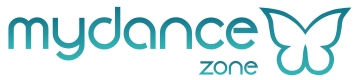 Logo de mydance, buscador de clases de baile y escuelas de baile